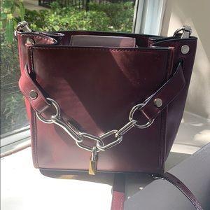 Alexander Wang Mini Attica Leather Crossbody Bag